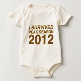 I Survived Peak Baby Bodysuit