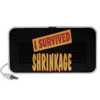 I SURVIVED SHRINKAGE MP3 SPEAKERS