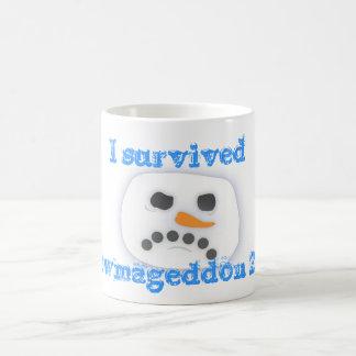 I survived Snowmageddon 2010 Coffee Mug
