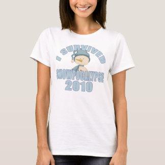I Survived Snowpocalypse 2010 T-Shirt
