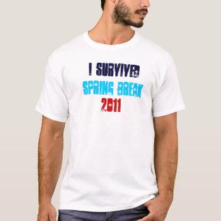 I Survived Spring Break 2011 T-Shirt