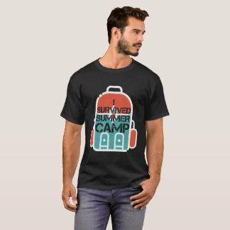 I Survived Summer Camp Survival T Shirt