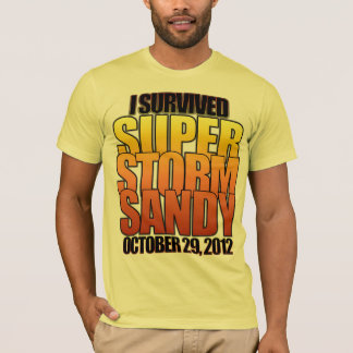 I survived Super Storm Hurricane Sandy T-Shirt