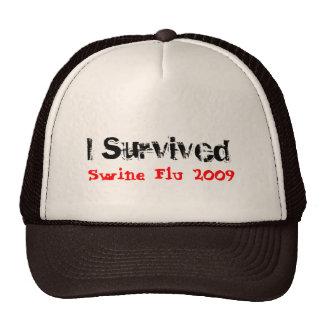 I Survived Swine Flu 2009 Hat