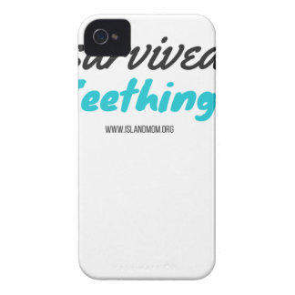 I Survived Teething - T Shirts iPhone 4 Case-Mate Case