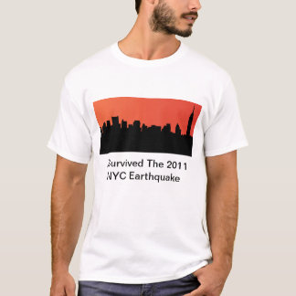 I Survived The 2011 NYC Earthquake T-Shirt