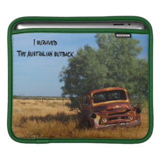 I survived the Australian outback IPad sleeve