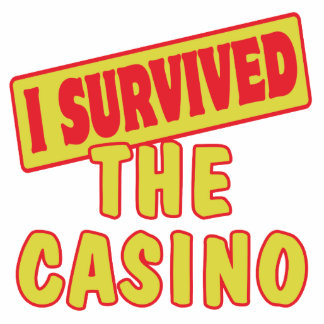 I SURVIVED THE CASINO ACRYLIC CUT OUTS
