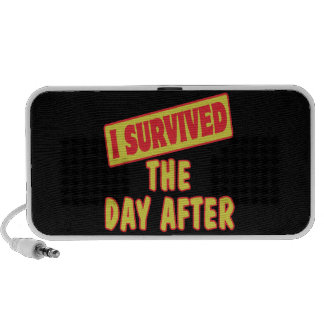 I SURVIVED THE DAY AFTER PORTABLE SPEAKERS