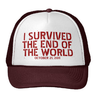 I Survived The End Of The World Hat