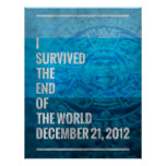 I Survived The End of The World Posters