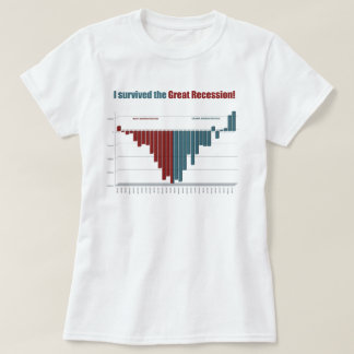 I Survived The Great Recession! T-Shirt
