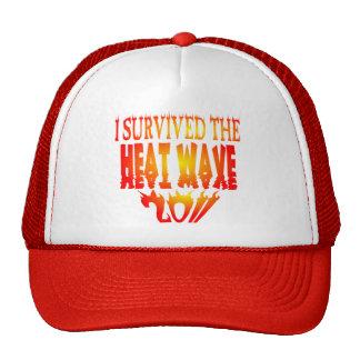 I Survived The Heat Wave 2011 Trucker Hat