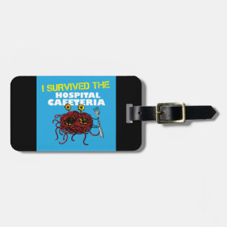 I Survived The Hospital Cafeteria Luggage Tag