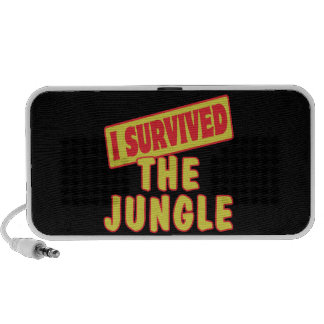 I SURVIVED THE JUNGLE iPhone SPEAKERS