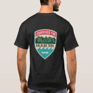 """I Survived the Kalalau Trail"" Men's T-Shirt"