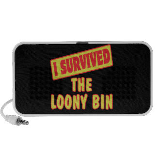 I SURVIVED THE LOONY BIN PORTABLE SPEAKER