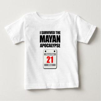 I Survived The Mayan Apocalypse 2012 (calendar) Baby T-Shirt