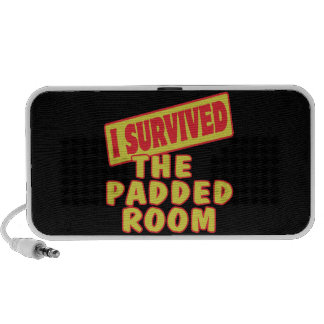 I SURVIVED THE PADDED ROOM PORTABLE SPEAKERS