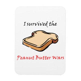 I survived the Peanut Butter Wars Vinyl Magnet