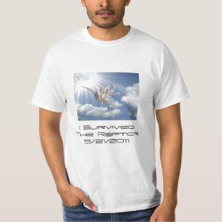 I Survived the Raptor! T-Shirt