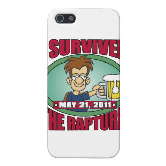 I Survived the Rapture 2011 iPhone 5 Cases