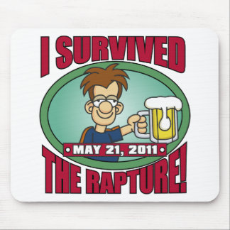 I Survived the Rapture 2011 Mouse Pads