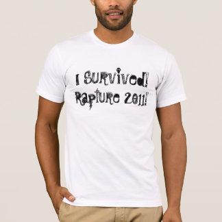 I Survived the Rapture 2011 T-Shirt