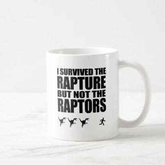 I Survived The Rapture, But Not The Raptors Mug