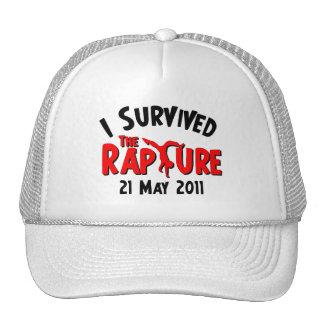 I Survived The Rapture Mesh Hat