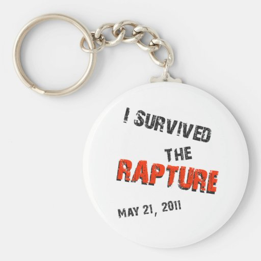 I Survived the Rapture Keychains