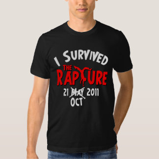 I Survived The Rapture October 21 Tee Shirt