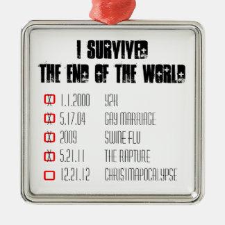 I Survived the Rapture Ornament