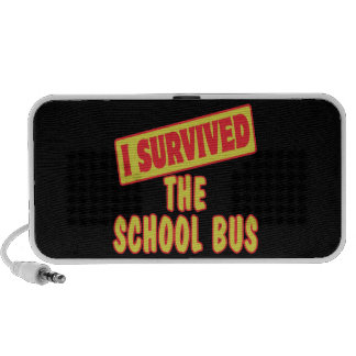 I SURVIVED THE SCHOOL BUS MP3 SPEAKERS