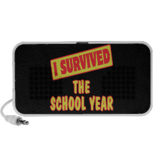 I SURVIVED THE SCHOOL YEAR iPod SPEAKERS