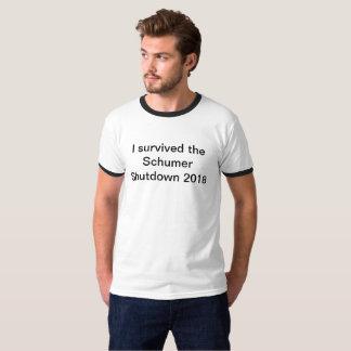 I survived the Schumer Shutdown 2018 T-shirt