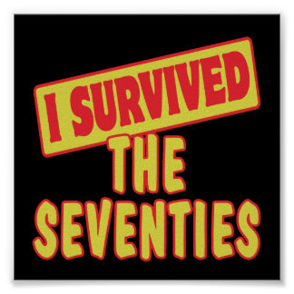 I SURVIVED THE SEVENTIES POSTER