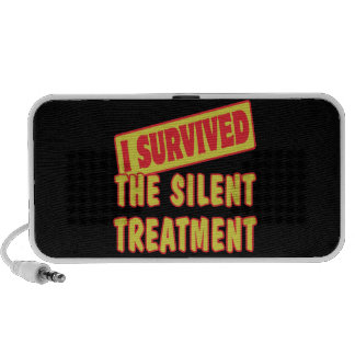 I SURVIVED THE SILENT TREATMENT PORTABLE SPEAKER