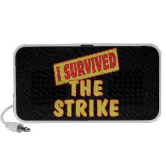 I SURVIVED THE STRIKE MINI SPEAKERS