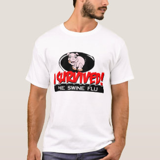 I Survived The Swine Flu Men's T-shirt