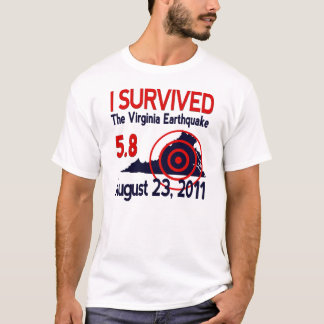 I Survived the Virginia Earthquake T-Shirt