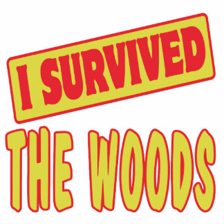 I SURVIVED THE WOODS PHOTO SCULPTURES