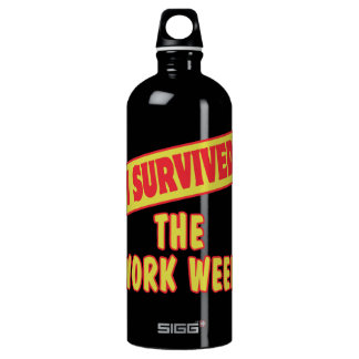 I SURVIVED THE WORK WEEK SIGG TRAVELLER 1.0L WATER BOTTLE