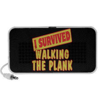 I SURVIVED WALKING THE PLANK SPEAKER SYSTEM