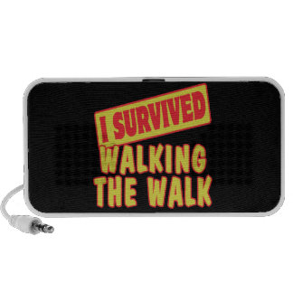 I SURVIVED WALKING THE WALK PORTABLE SPEAKERS