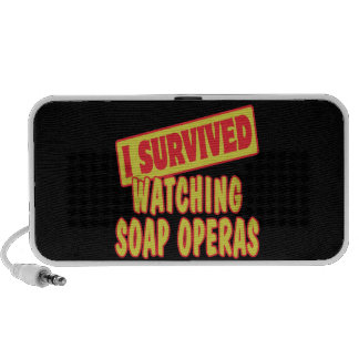 I SURVIVED WATCHING SOAP OPERAS NOTEBOOK SPEAKER