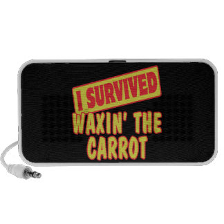 I SURVIVED WAXING THE CARROT MP3 SPEAKER