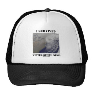 I Survived Winter Storm Nemo (NASA Outer Space) Cap