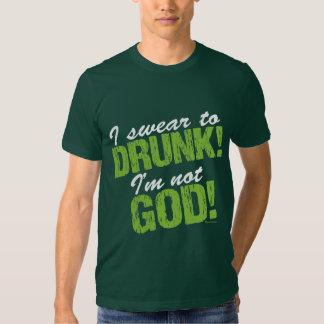 I Swear Comical St Pats Day Shirts