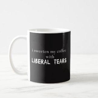 I Sweeten My Coffee With Liberal Tears -Mug Best Coffee Mug
